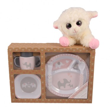 Let's Eat! Gift Set - Pink