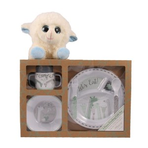 Let's Eat! Gift Set - Blue