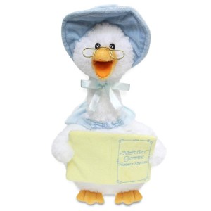 Singing Mother Goose - Blue